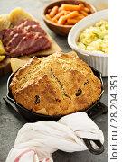 Купить «Irish soda bread», фото № 28204351, снято 9 марта 2018 г. (c) Елена Веселова / Фотобанк Лори