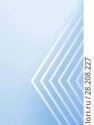 Купить «3d art, geometric pattern of corners», иллюстрация № 28208227 (c) EugeneSergeev / Фотобанк Лори