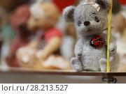 """Купить «Выставка """"Крафт-Базар"""" в выставочном центре Союза художников Санкт-Петербурга», фото № 28213527, снято 22 марта 2018 г. (c) Stockphoto / Фотобанк Лори"""