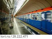 "Москва, станция метро ""Фонвизинская"" (2018 год). Редакционное фото, фотограф glokaya_kuzdra / Фотобанк Лори"