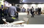 Купить «Pavilion Woodcessories at IFA, Berlin, Germany», видеоролик № 28222759, снято 25 мая 2017 г. (c) BestPhotoStudio / Фотобанк Лори