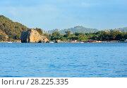 Купить «Tyrrhenian sea landscape, Campania, Italy», фото № 28225335, снято 21 июня 2017 г. (c) Юрий Брыкайло / Фотобанк Лори