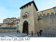 Купить «San Marino town view», фото № 28226147, снято 4 июня 2017 г. (c) Юрий Брыкайло / Фотобанк Лори