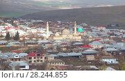 Купить «Средневековая Джума мечеть в современной Шемахе январским днем. Азербайджан», видеоролик № 28244855, снято 3 января 2018 г. (c) Виктор Карасев / Фотобанк Лори