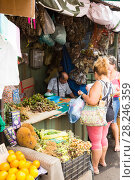 Central market in Asuncion (2017 год). Редакционное фото, фотограф Яков Филимонов / Фотобанк Лори