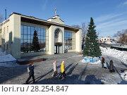 Купить «Епархиальный Духовно-просветительский центр, город Петропавловск-Камчатский», фото № 28254847, снято 6 января 2018 г. (c) А. А. Пирагис / Фотобанк Лори
