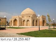 Купить «Ancient market Chorsu in sunny day, Shahrisabz, Uzbekistan», фото № 28259467, снято 16 октября 2016 г. (c) Юлия Бабкина / Фотобанк Лори