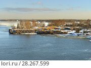 Купить «Helsinki archipelago in early spring. Morning», фото № 28267599, снято 28 марта 2018 г. (c) Валерия Попова / Фотобанк Лори