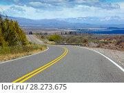 Купить «Views of Lago Buenos Aires, Patagonia, Argentina», фото № 28273675, снято 30 января 2017 г. (c) Яков Филимонов / Фотобанк Лори