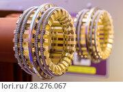 Купить «Elements of a high-voltage switch.», фото № 28276067, снято 9 декабря 2016 г. (c) Андрей Радченко / Фотобанк Лори