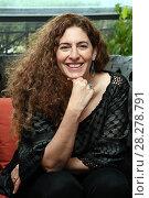 Купить «Annemarie Jacir during 'Wajib' film photocall, Rome, Italy 09 apr 2018.», фото № 28278791, снято 9 апреля 2018 г. (c) age Fotostock / Фотобанк Лори