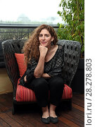 Купить «Annemarie Jacir during 'Wajib' film photocall, Rome, Italy 09 apr 2018.», фото № 28278803, снято 9 апреля 2018 г. (c) age Fotostock / Фотобанк Лори