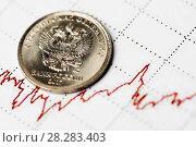 Купить «Курс рубля», фото № 28283403, снято 21 декабря 2017 г. (c) Валерия Потапова / Фотобанк Лори