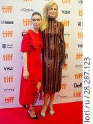Купить «Actors attends a premiere for 'Lion' for the annual Toronto Film Festival (TIFF), in Toronto, Canada. Featuring: Rooney Mara, Nicole Kidman Where: Toronto...», фото № 28287123, снято 10 сентября 2016 г. (c) age Fotostock / Фотобанк Лори