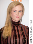 Купить «Actors attends a premiere for 'Lion' for the annual Toronto Film Festival (TIFF), in Toronto, Canada. Featuring: Nicole Kidman Where: Toronto, Canada When: 10 Sep 2016 Credit: Euan Cherry/WENN.com», фото № 28287163, снято 10 сентября 2016 г. (c) age Fotostock / Фотобанк Лори