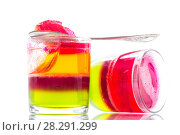 Купить «jelly fruit colored puff», фото № 28291299, снято 16 марта 2018 г. (c) Peredniankina / Фотобанк Лори