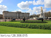 Купить «Buckingham Palace, London, England, United Kingdom, Europe», фото № 28308015, снято 21 марта 2017 г. (c) age Fotostock / Фотобанк Лори