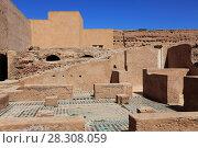 Купить «Ruins, El Badi Palace (Badii Palace) (Badia Palace), The Incomparable Palace, 16th century, Marrakesh (Marrakech), Morocco, North Africa, Africa», фото № 28308059, снято 28 марта 2017 г. (c) age Fotostock / Фотобанк Лори
