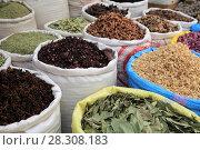 Купить «Spice Market, Souk, Mellah (Old Jewish Quarter), Marrakesh (Marrakech), Morocco, North Africa, Africa», фото № 28308183, снято 28 марта 2017 г. (c) age Fotostock / Фотобанк Лори