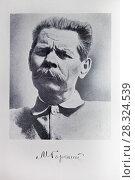 Купить «Алексей Максимович Горький (1868-1936), портрет», фото № 28324539, снято 22 апреля 2018 г. (c) Victoria Demidova / Фотобанк Лори