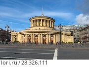 Купить «Павильон станции метро «Площадь Восстания», Санкт-Петербург. Станция была открыта 15 ноября 1955 года», фото № 28326111, снято 18 августа 2017 г. (c) Pukhov K / Фотобанк Лори
