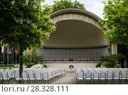 Летний театр и сцена в Баден-Бадене. Германия. Стоковое фото, фотограф Яковлев Сергей / Фотобанк Лори