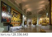 Купить «Hungarian National Gallery in Buda Castle», фото № 28336643, снято 29 октября 2017 г. (c) Яков Филимонов / Фотобанк Лори