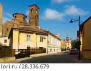 Купить «Old town of Constanta, Romania», фото № 28336679, снято 20 сентября 2017 г. (c) Яков Филимонов / Фотобанк Лори