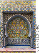 Купить «Traditional maroccan old fountain», фото № 28343467, снято 16 февраля 2018 г. (c) Михаил Коханчиков / Фотобанк Лори