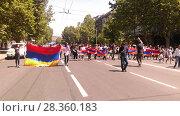 Купить «Улицы Еревана в мае 2018», фото № 28360183, снято 2 мая 2018 г. (c) Агата Терентьева / Фотобанк Лори