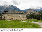 Fort Victor-Emmanuel in Vanoise National Park (2016 год). Стоковое фото, фотограф Юлия Белоусова / Фотобанк Лори