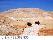 Купить «Иудейская пустыня (Израиль)», фото № 28362835, снято 15 мая 2014 г. (c) Александр Гаценко / Фотобанк Лори