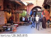 Купить «Souk, Market, Medina, UNESCO World Heritage Site, Marrakesh (Marrakech), Morocco, North Africa, Africa», фото № 28365815, снято 27 марта 2017 г. (c) age Fotostock / Фотобанк Лори