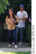 Maria Shriver and Patrick Schwarzenegger seen house hunting together... (2016 год). Редакционное фото, фотограф WENN.com / age Fotostock / Фотобанк Лори