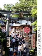 Купить «Храм Джишу в Киото», фото № 28397483, снято 1 сентября 2009 г. (c) Александр Гаценко / Фотобанк Лори