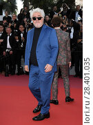 Купить «Pedro Almodovar during 'Les Eternels' red carpet, 71st Cannes Film Festival, Cannes, France 11 May 2018.», фото № 28401035, снято 11 мая 2018 г. (c) age Fotostock / Фотобанк Лори