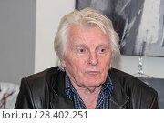Актёр театра и кино Юрий Назаров (2018 год). Редакционное фото, фотограф Сергей Соболев / Фотобанк Лори