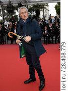 Купить «Francesco Rutelli 'Blackkklansman' premiere, 71st Cannes Film Festival, 14 May 2018.», фото № 28408779, снято 14 мая 2018 г. (c) age Fotostock / Фотобанк Лори
