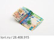 Paper money tenge. Стоковое фото, фотограф Александр Малышев / Фотобанк Лори
