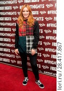 Купить «VIPs on the red carpet at the 2016 launch of Frght Nights Featuring: Arielle Free Where: London, United Kingdom When: 06 Oct 2016 Credit: Alan West/WENN.com», фото № 28417867, снято 6 октября 2016 г. (c) age Fotostock / Фотобанк Лори