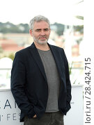 Director Stephane Brize during At War (En Guerre) Photocall. 71st Cannes Film Festival. Cannes, France 16-05-2018. Редакционное фото, фотограф Maria Laura Antonelli / AGF/Maria Laura Antonelli / age Fotostock / Фотобанк Лори