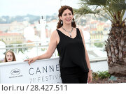 Купить «Annemarie Jacir during 'Jury Un Certain Regard' photocall at 71th Cannes Film Festival, Cannes, France 09/05/2018.», фото № 28427511, снято 9 мая 2018 г. (c) age Fotostock / Фотобанк Лори