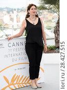 Купить «Annemarie Jacir during 'Jury Un Certain Regard' photocall at 71th Cannes Film Festival, Cannes, France 09/05/2018.», фото № 28427515, снято 9 мая 2018 г. (c) age Fotostock / Фотобанк Лори