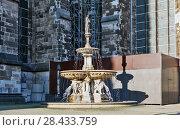 Купить «Фонтан Святого Петра. Кёльн. Германия», фото № 28433759, снято 1 мая 2018 г. (c) Сергей Афанасьев / Фотобанк Лори