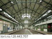 Купить «Dortmund, D-Dortmund, Ruhr area, Westphalia, North Rhine-Westphalia, NRW, Depot Immermannstrasse, centre of arts and cultural center, former tram depot...», фото № 28443707, снято 7 сентября 2017 г. (c) age Fotostock / Фотобанк Лори
