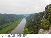 Купить «Национальный парк Саксонская Швейцария. Германия.», фото № 28469351, снято 3 мая 2018 г. (c) Воробьева Анна / Фотобанк Лори