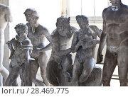 Купить «School of sculptors, restoration of sculptures, workshop repair depot», фото № 28469775, снято 2 марта 2014 г. (c) Сурикова Ирина / Фотобанк Лори