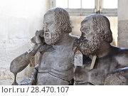 Купить «School of sculptors, restoration of sculptures, workshop repair depot», фото № 28470107, снято 2 марта 2014 г. (c) Сурикова Ирина / Фотобанк Лори