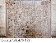 Купить «School of sculptors, restoration of sculptures, workshop repair depot», фото № 28470199, снято 2 марта 2014 г. (c) Сурикова Ирина / Фотобанк Лори