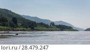 Купить «Scenic view of riverbank along the River Mekong, Bokeo Province, Laos», фото № 28479247, снято 12 декабря 2016 г. (c) Ingram Publishing / Фотобанк Лори